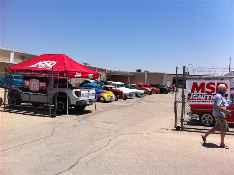 MSD Ignition in El Paso hosted our group for lunch and a tour of their facilities.