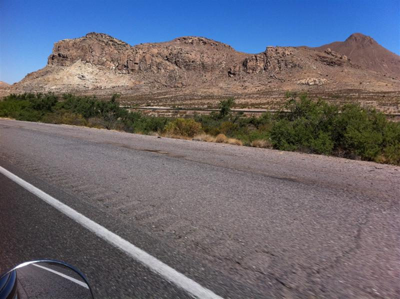 Another scenic drive, this one on I-10 West from Deming NM to Tombstone AZ