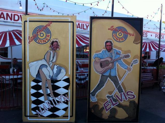 Marilyn & Elvis - aka Dorothy & Paul