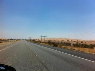 Not long after we crossed the stateline into California, we saw these incredible Algodones Sand Dunes.