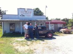 Hotshoe Hotrods in Billings MO. Dan Morley & son Chad were still open! Had a good visit and viewed several shop projects. By this time it was 5:30 so we drove about an hour to Lebanon MO and got a room. Had a good catfish dinner at Dowd's Catfish & BBQ.
