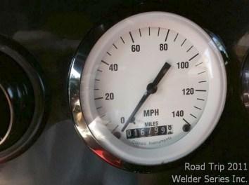 Odometer leaving Memphis/Collierville 10:00 am June 8