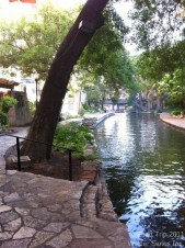 We have looked forward to walking along San Antonio's Riverwalk for months. Just love this place. This is our fifth, maybe sixth, visit to San Antonio and our first visit in June. Other visits have been in either October or February. It's a bit warmer in June.