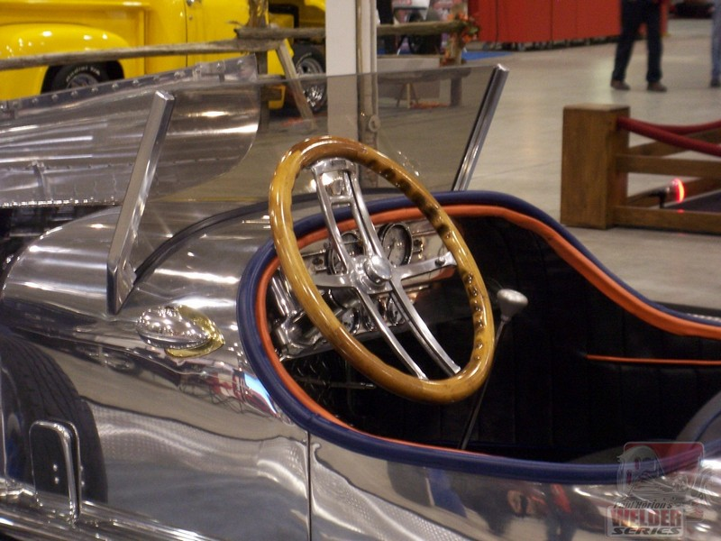 Instead of a tilt column, how about a tilt steering wheel?!