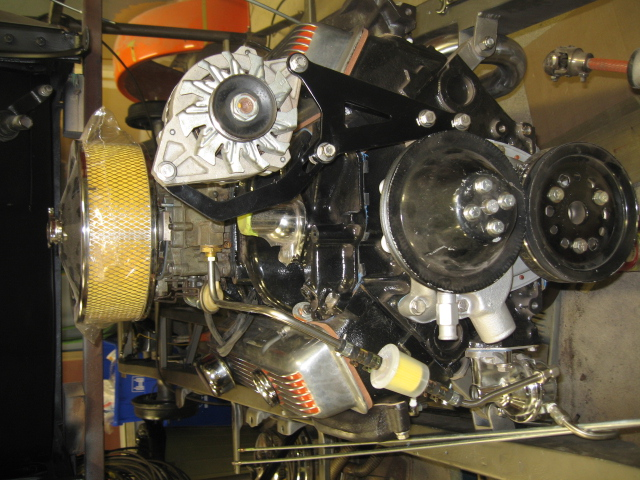 Installed Alternator Bracket 03