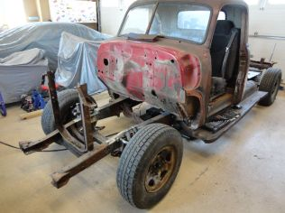 1952 Chevy Mustang II install 06