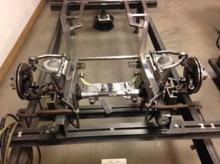 Narrowed Mustang II coil spring kit.