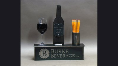 Burke Beverage 16 in wide