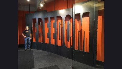 Freedom Wall at Harley-Davidson Corporate Lobby