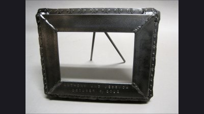 Frame with chain