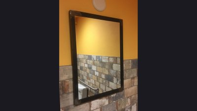 Bathroom Mirror Frame - Cubanitas 2