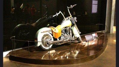 Harley Musuem Display Platform