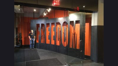 HD Freedom Wall in Headquarter Lobby