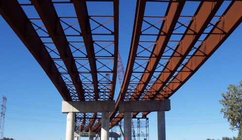 Girders are subjected to fluctuating loads which combined with temperature and fabrication quality will determine fatigue life.