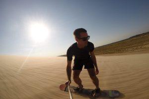 Sandboarden Bolivia