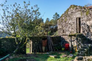 Old stone house in Galicia