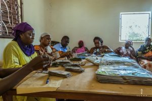 Payday on a Micro financing project in Senegal