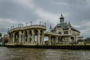 Beautiful palace in the Tigre Delta