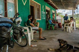 locals ontmoeten in Bolivia