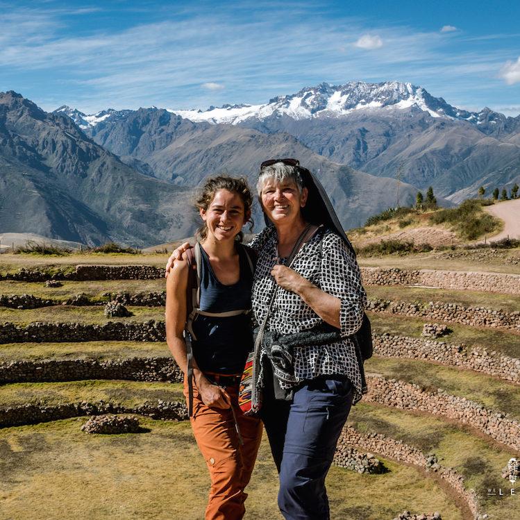 maras inca site tijdens een rondreis in zuid peru