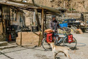chicharron langs de weg in Peru