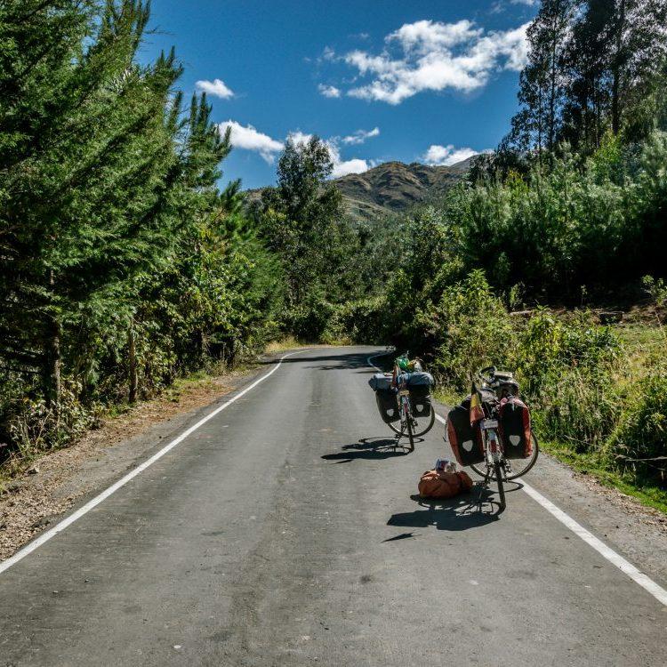 private road in Peru