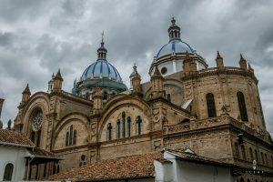 The new cathedral Cuenca