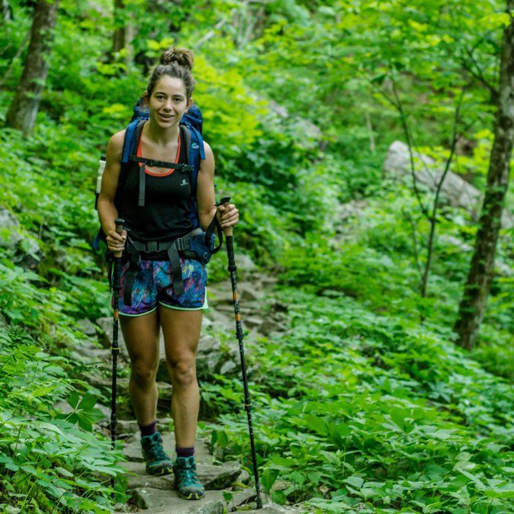 de appalachian trail in de lente