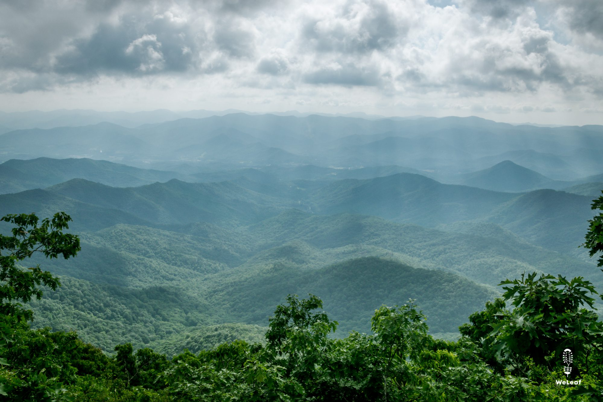 green mountains in Georgia