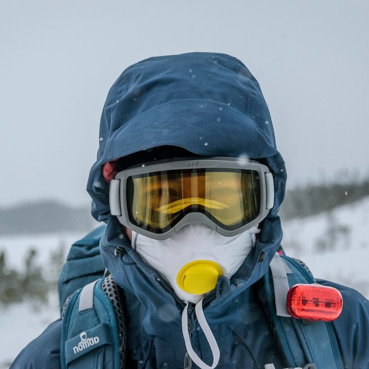 mouth mask for skiing