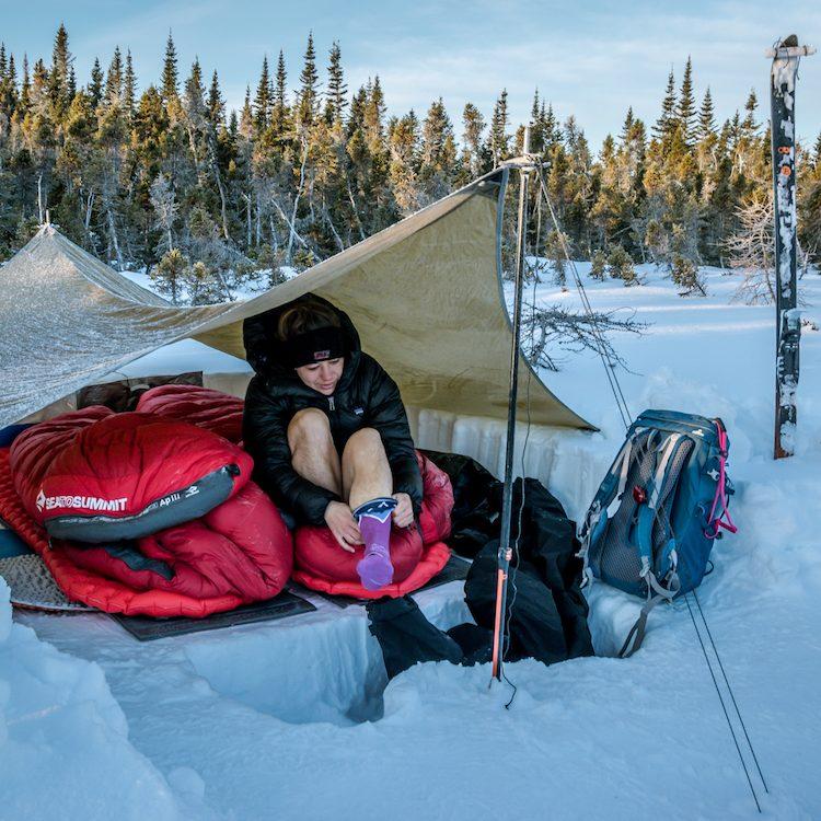tips voor winter kamperen
