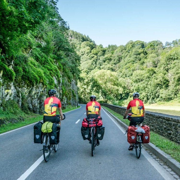 Groene weg naar de Middelandse zee fietsroute