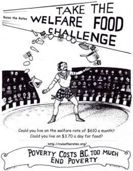 Food Challenge Poster