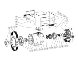 Stamford Alternators Parts   Welfare Machinery