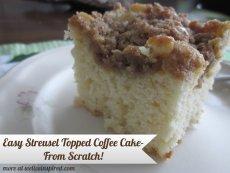 Easy homemade coffee cake recipes