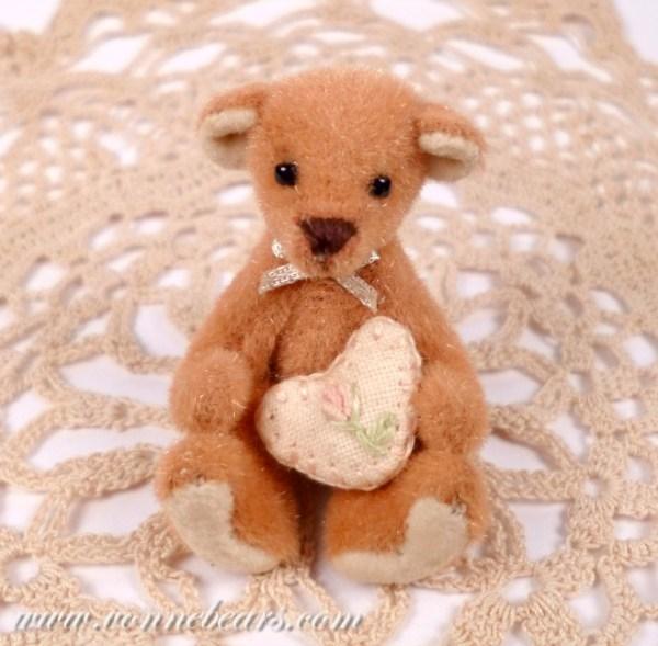 Miniature Teddy Bears by Vonne Bears on Etsy