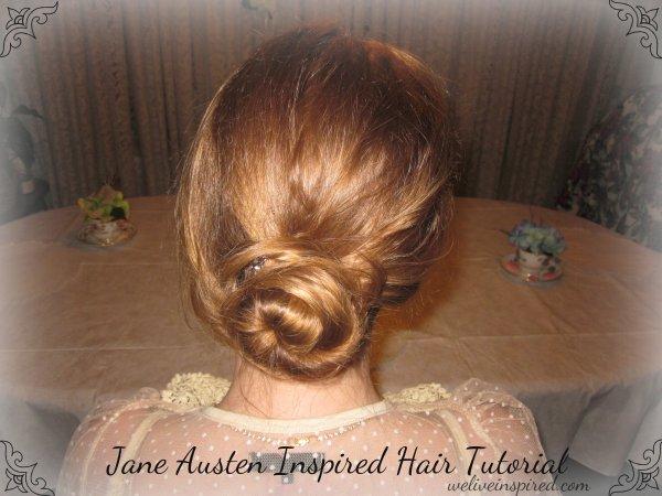 Jane Austen Inspired Hair Tutorial