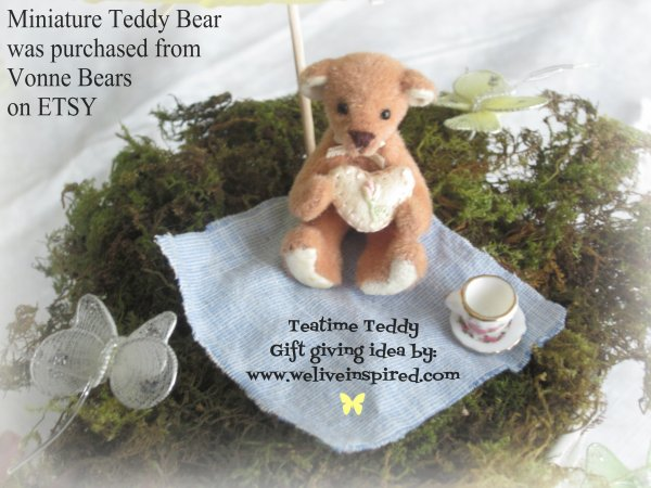 Micro Mini Teddy Bears by vonnebears.com
