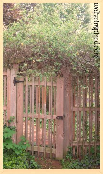 Rebekah's Inspired Cottage Secret Garden Gate