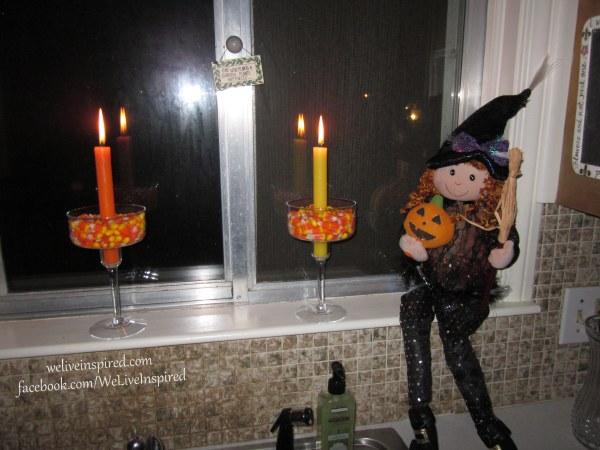 Halloween candle ideas