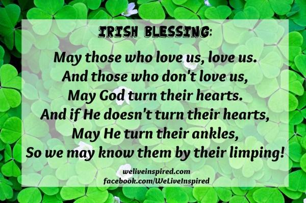 Funny Irish Blessings