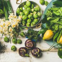 Pflanzlich vollwertig einkaufen & essen.