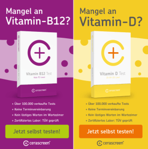 Vitamin B12 Vitamin D Selbsttest von cerascreen