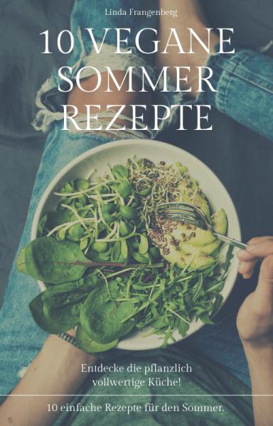 eBook Cover 10 vegane Sommerrezepte