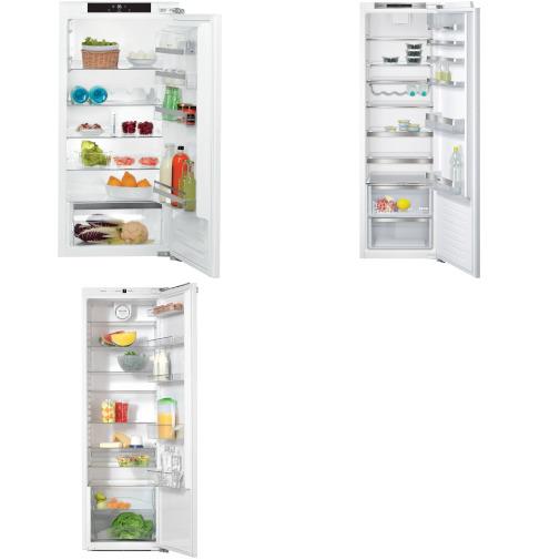 (sehr) gut im Test von Stiftung Warentest 5/2017: Große Einbau-Kühlschränke