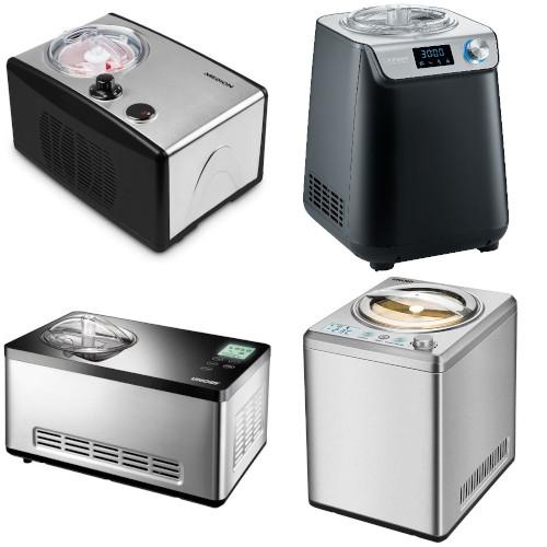 (sehr) gut in Tests von Haus & Garten Test, ETM Testmagazin und Stiftung Warentest: Eismaschine mit Kompressor