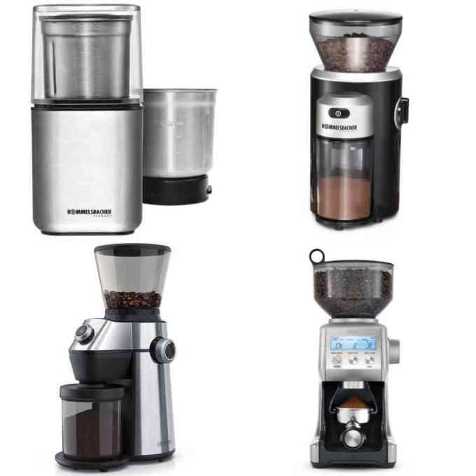 (sehr) gut im Test: Kaffeemühlen