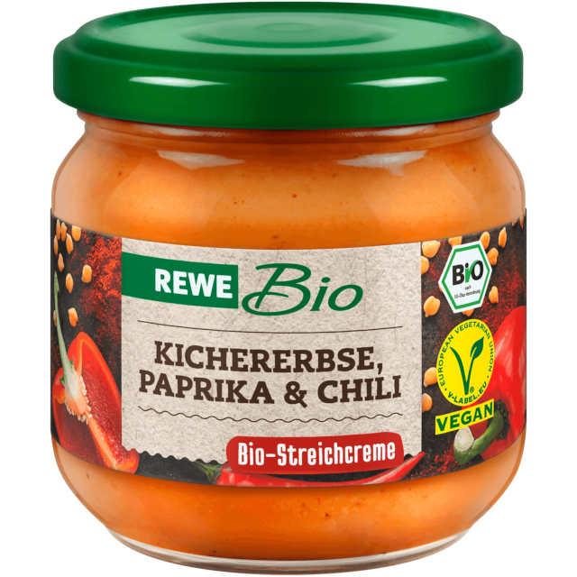 sehr gut im Test von Öko-Test 9/2020: REWE Bio Kichererbse, Paprika & Chili