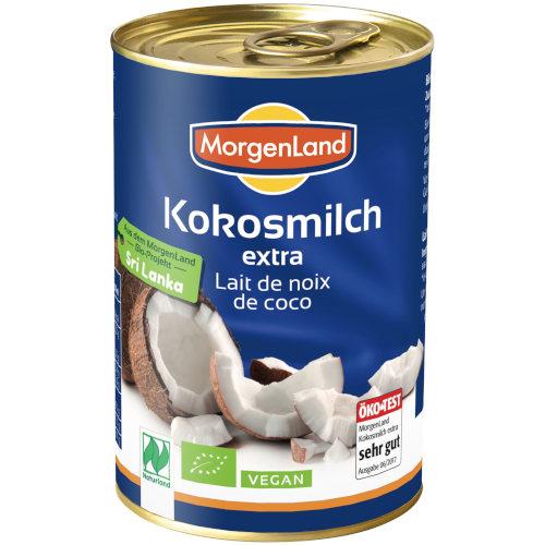 sehr gut im Test von Öko-Test 02/2020: Morgenland Kokosmilch extra