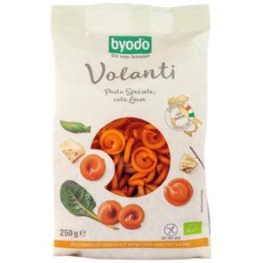 sehr gut im Test von Öko-Test 1/2019: Byodo Volanti Pasta Speziale Rote Linse (Bio)